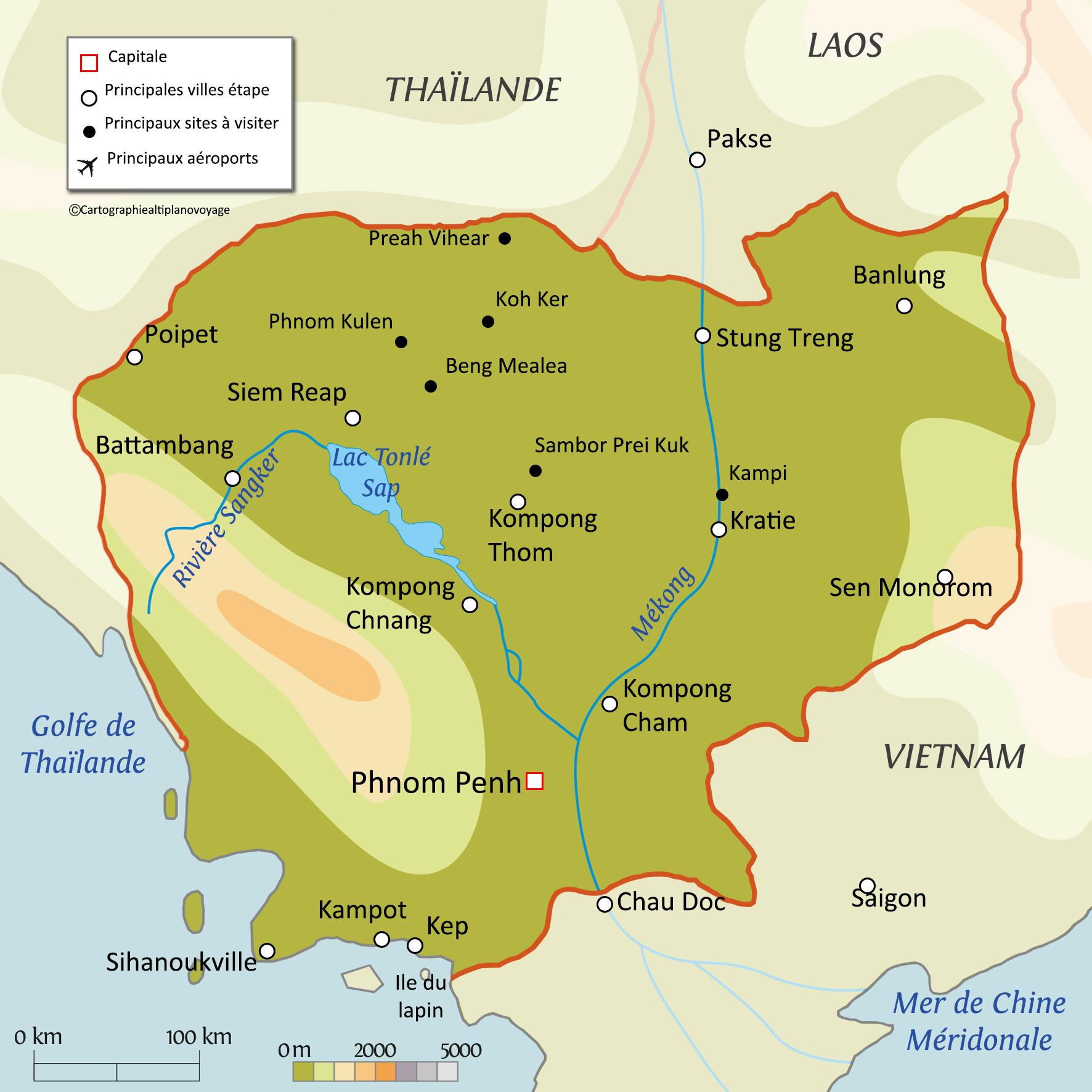 Carte Thailande Climat.Informations Pratiques Du Voyage Au Cambodge