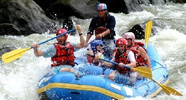 Circuit Rafting sur le rio Pacuare