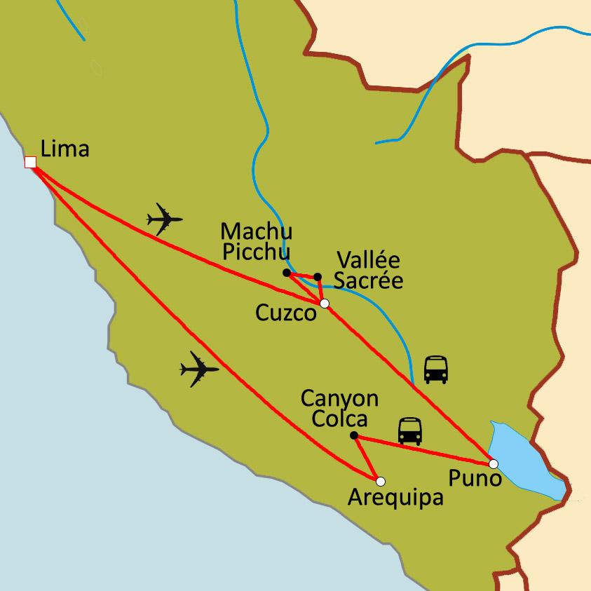 Populaire Circuit sur mesure Voyage de noces : le Pérou à deux JY76