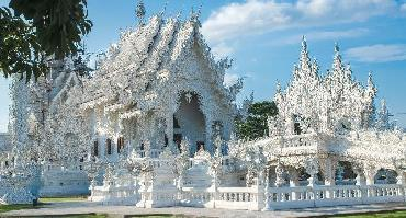 Visiter Le temple blanc Wat Rong Khun