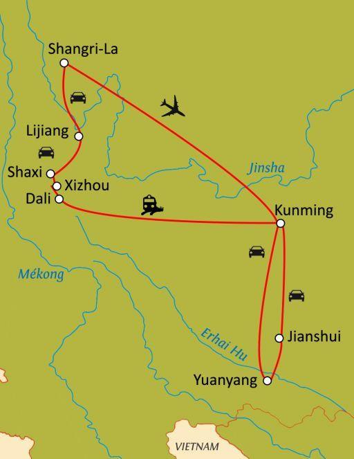 """Yunnan,pays """"au sud des nuages"""""""