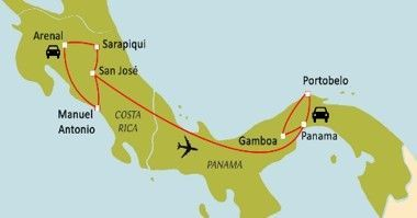 Du Costa Rica au Panama