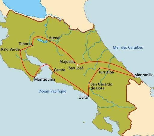Aventure au Costa Rica