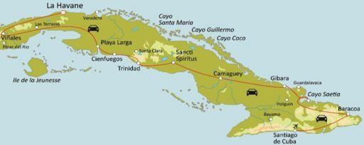 Cuba d'Est en Ouest