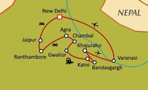 De la jungle de Kipling au bord du Gange