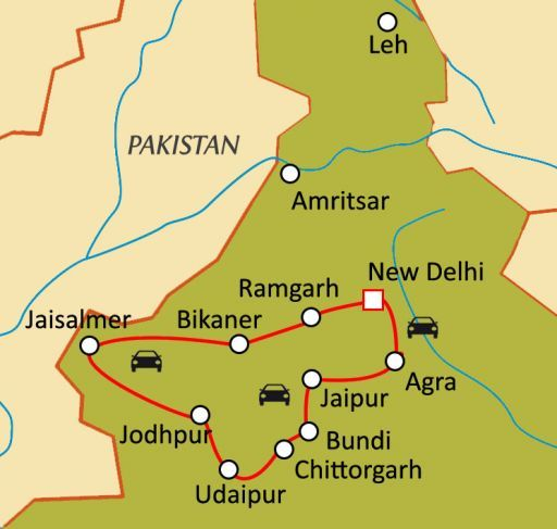 Trésors du Rajasthan