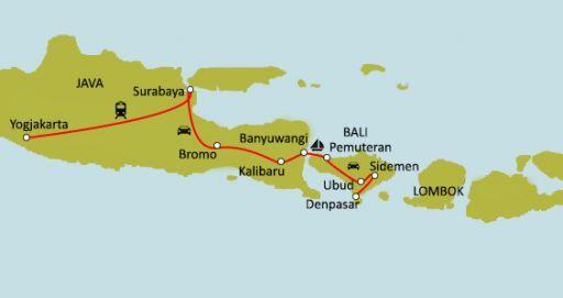 Trésors d'Indonésie : Bali & Java