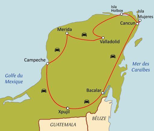 Yucatan : les secrets des Mayas