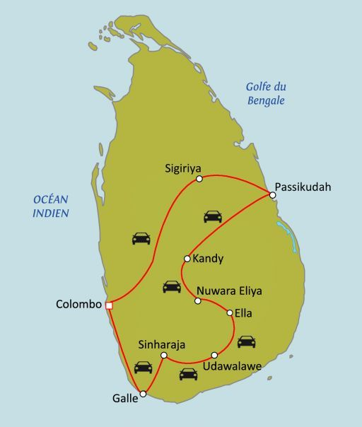 Sri Lanka, au pays de l'or vert